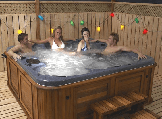 arctic spas hot tub patio lanterns